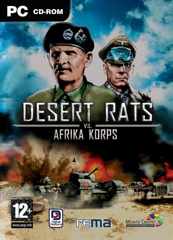 PC Desert Rats vs Afrika Corps