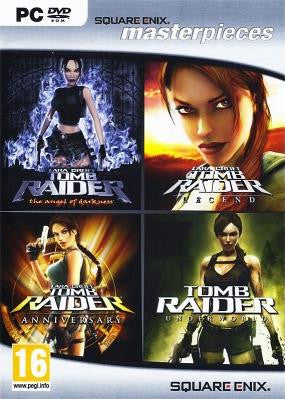 PC Tomb Raider Masterpiece (Angel of Darkness + Legend + Anniversary + Underworld)
