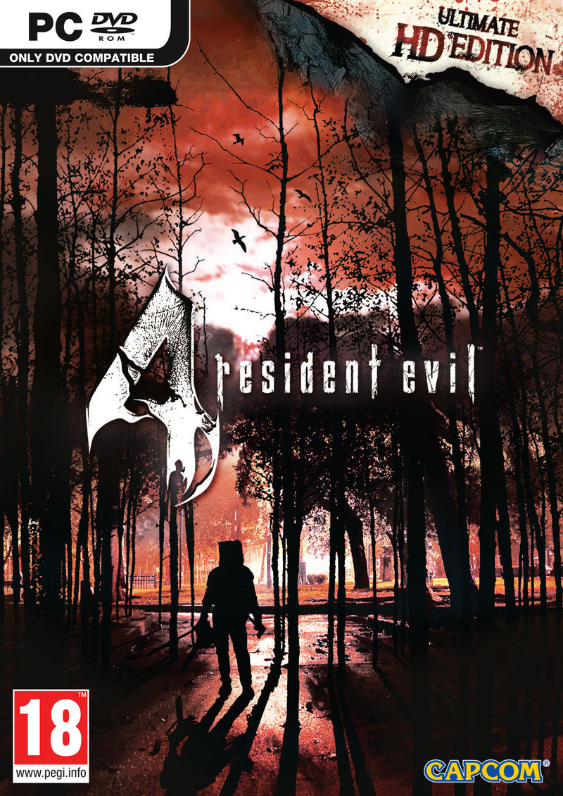 PC Resident Evli 4 PC Ultimate HD Edition