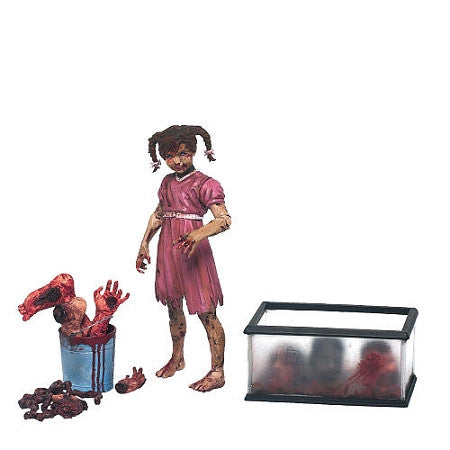 Walking Dead S.2 Governor's Zombie Daughter Penny Blake 13 cm
