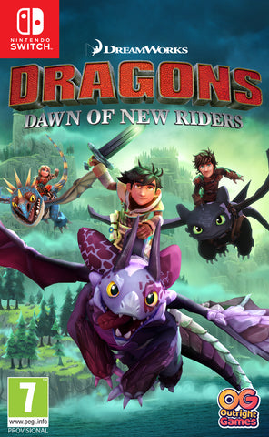 Switch Dragons Dawn Of New Riders