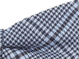 Bowtie  60% Silk 40% Lin Blue Checks