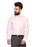 MTF Linen Full Pink Shirt