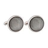 Cufflinks Italian Stone Solid Green