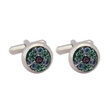 Cufflinks Italian Metal Printed Multi