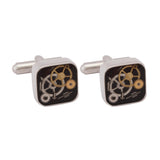 Cufflinks Italian Watch Solid Multi
