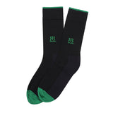 Socks Mercerised Pima Cotton Navy Solid
