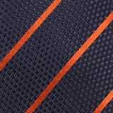 Necktie 100% Silk Regular Blue Stripe