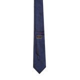 Necktie 100% Silk Regular Blue Jacquard