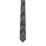 Necktie 100% Silk Regular Blue Checks