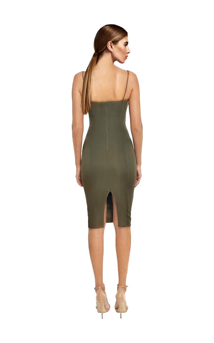 Misha Collection - Sophie Dress Khaki