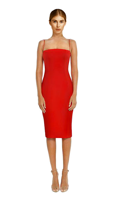 Misha Collection - Sophie Dress Red