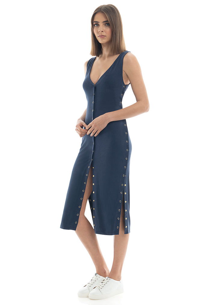 Misha Collection - Chantelle Dress Navy