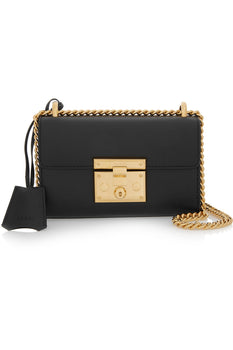Gucci - Padlock Leather Shoulder Bag