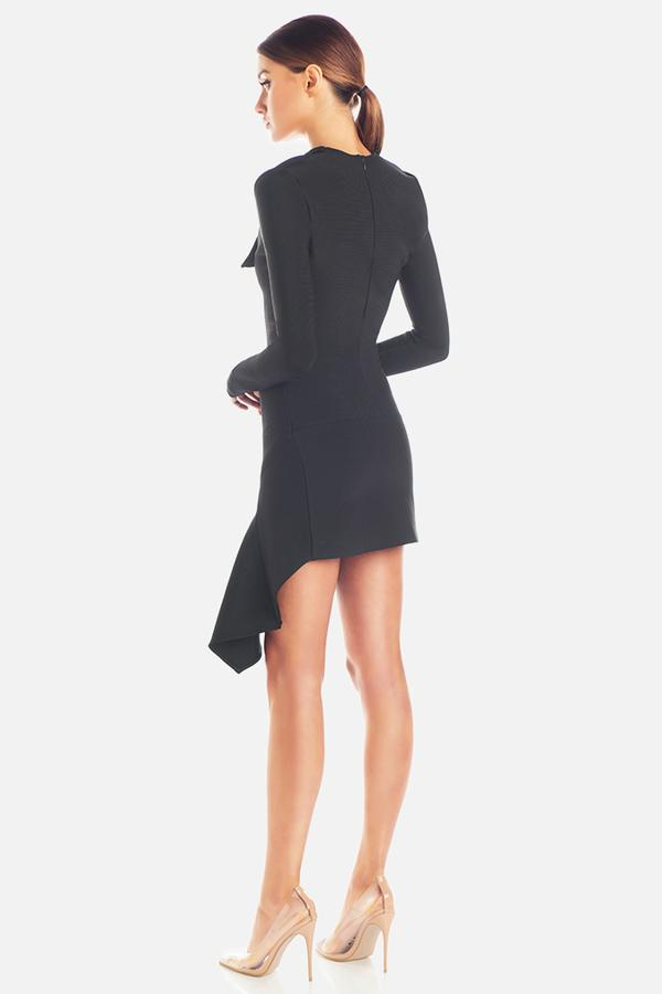 Misha Collection - Donna Bandage Mini Dress Black