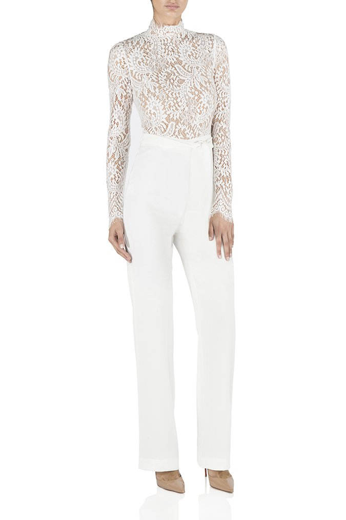 Misha Collection - Allegra Pantsuit White