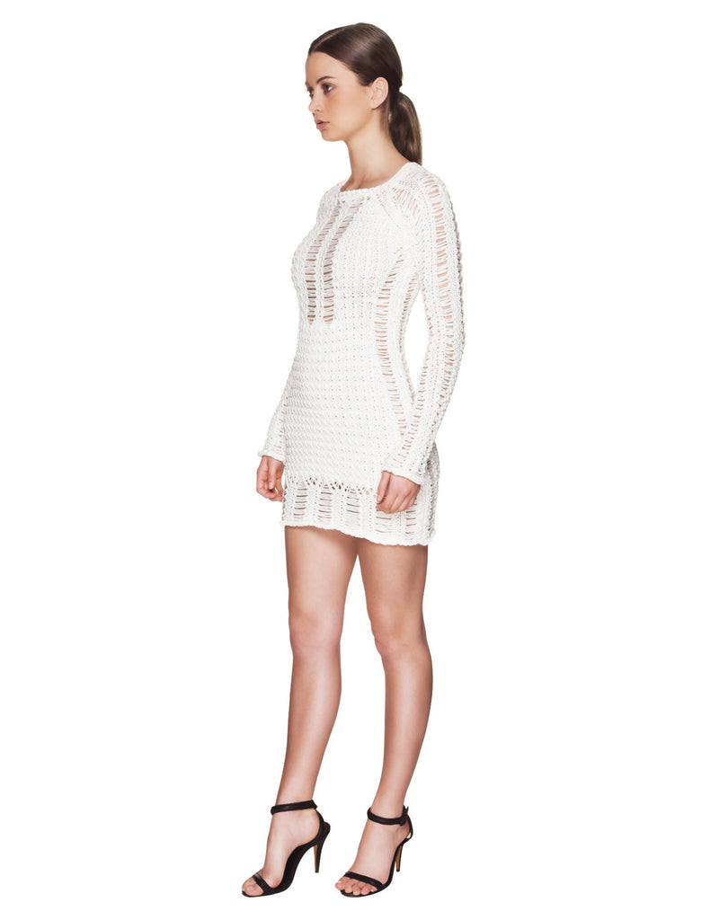 Balmain - Cotton Sweater Dress