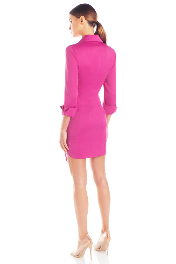 Misha Collection - Teagan Dress Fuschia