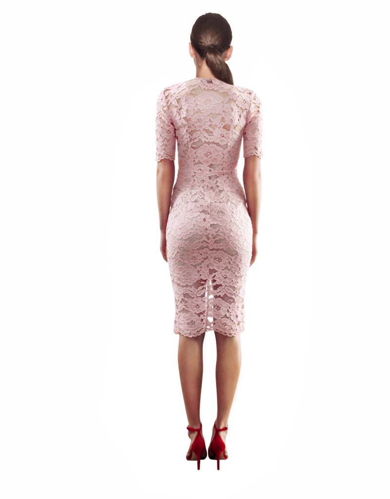 Yeojin Bae - Cornelli Lace Phoebe Dress - Pink