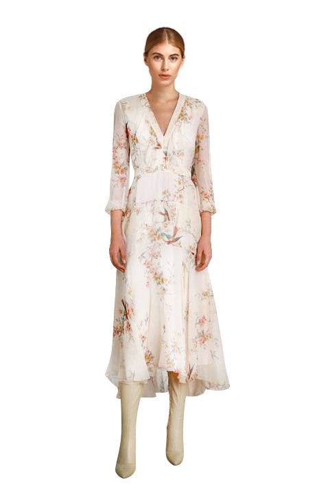 Zimmermann - Flutter Long Dress