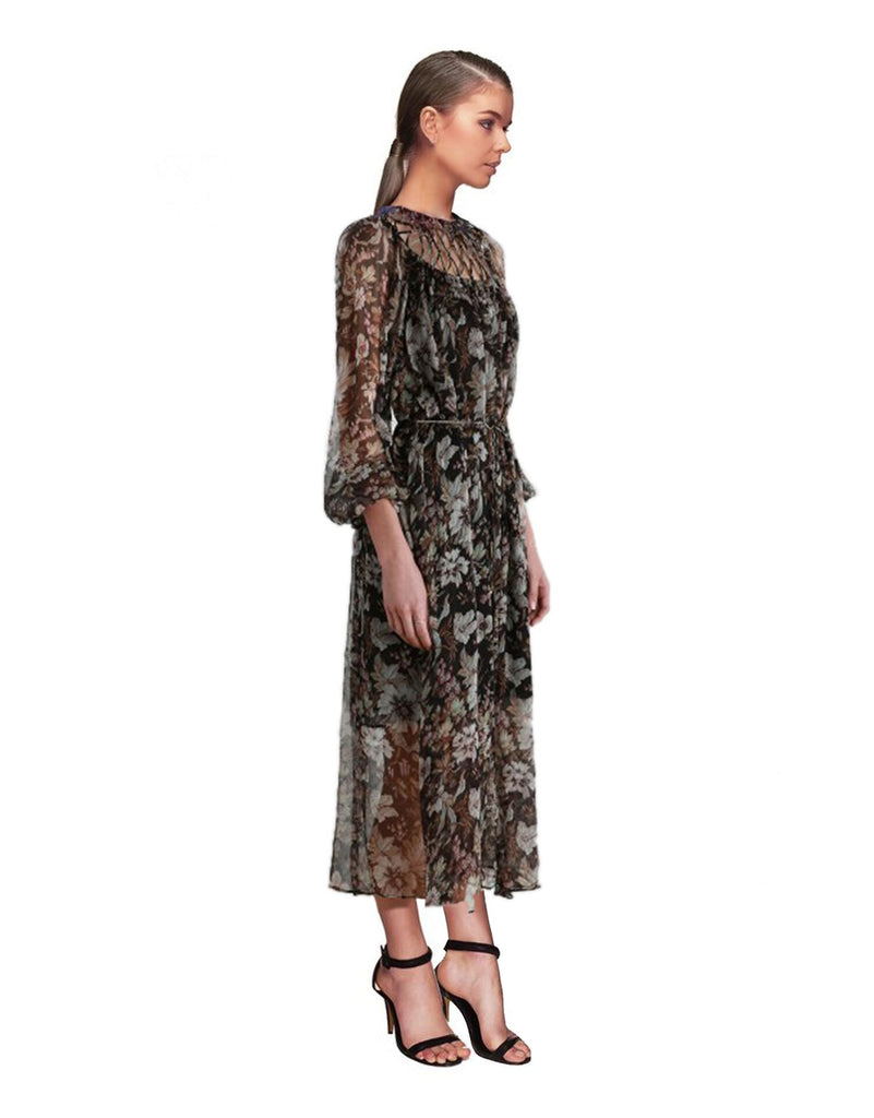 Zimmermann - Gossamer Lattice Long Dress
