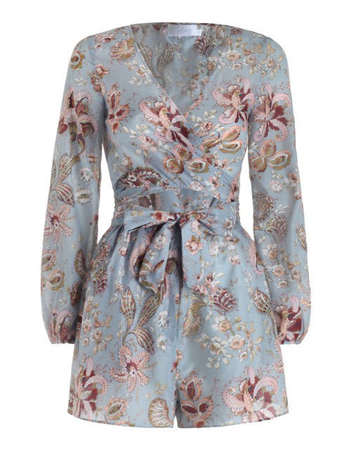 Zimmermann - Pavilion Wrap Playsuit