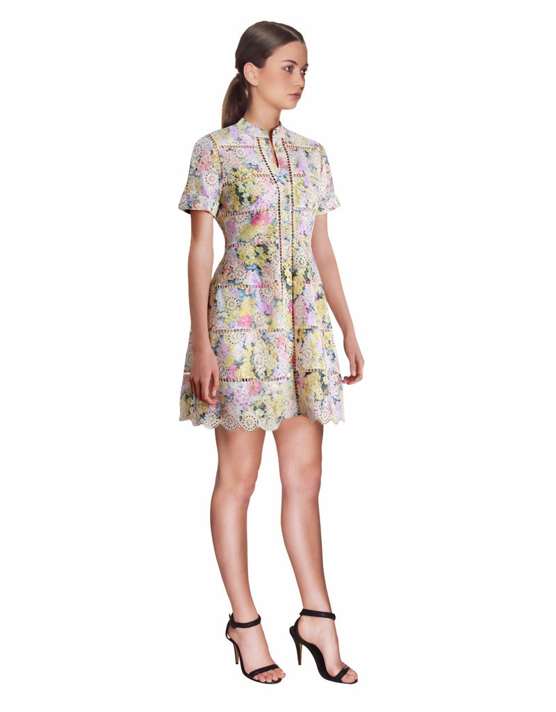 Zimmermann - Valour Hydrangea Bell Dress