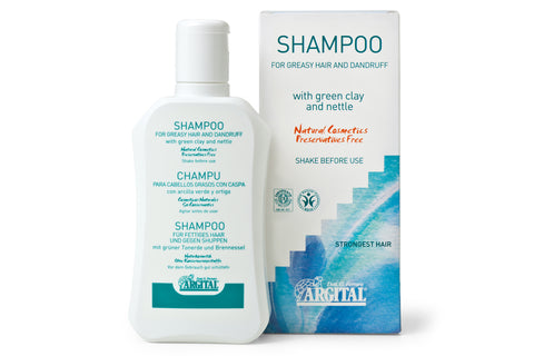 Shampoo for Oily Hair and Dandruff with Green Clay and Nettle Leaf Extract