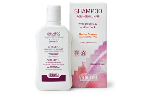 Shampoo for Normal or Dry Hair with Green Clay and Burdock Root extract