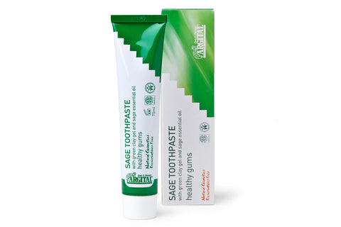 Sage Toothpaste for Healthy Gums