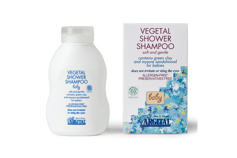 Baby Vegetal Shampoo and Bodywash with Mysore Sandalwood