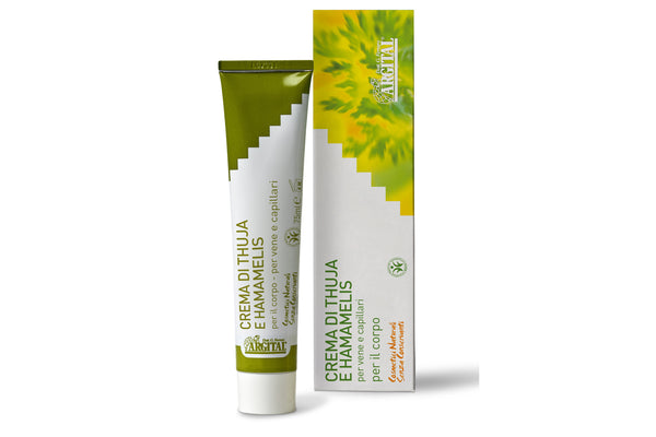 Thuja and Witch Hazel Cream for Veins and Capillaries
