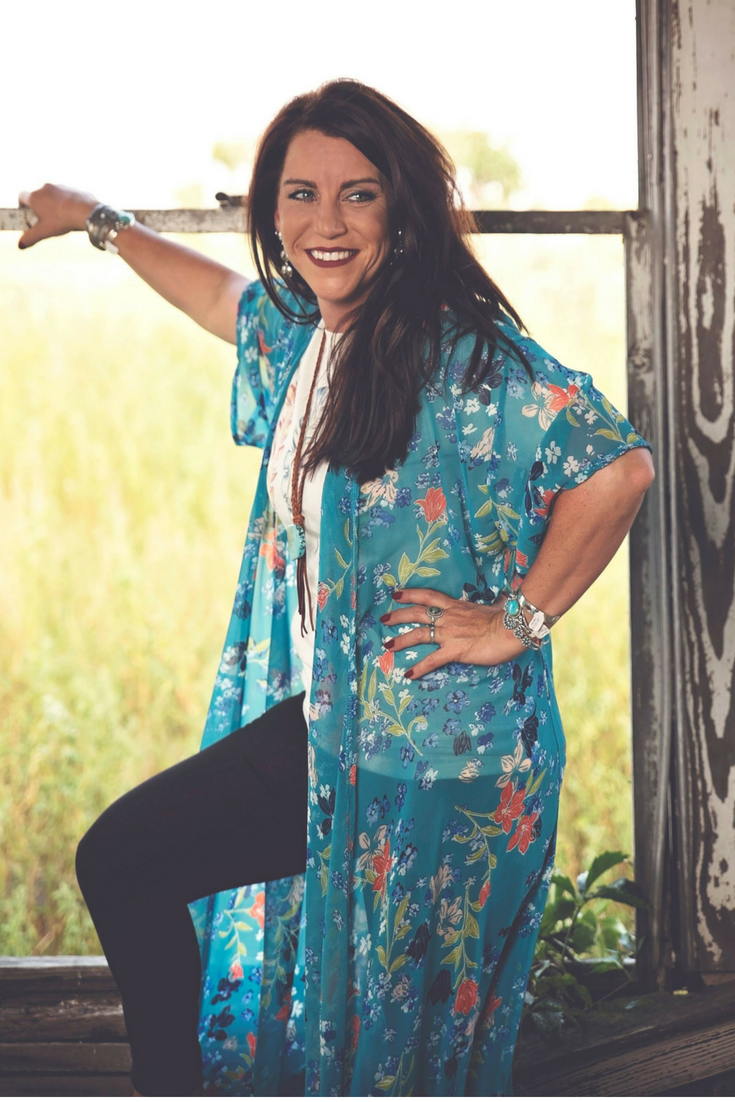 Floral Duster - White Owl Creek Boutique