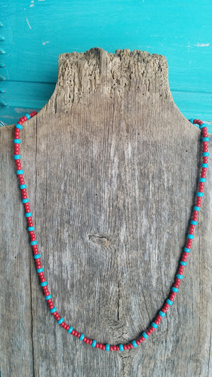 Seed Bead Necklace - White Owl Creek Boutique