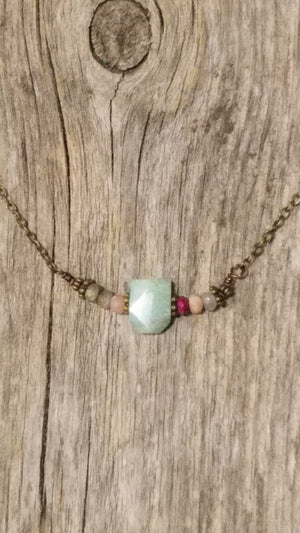 Jasper Necklace - White Owl Creek Boutique