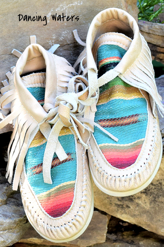 LOREC Ranch Moccasins - White Owl Creek Boutique