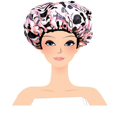 Shower Cap in Use