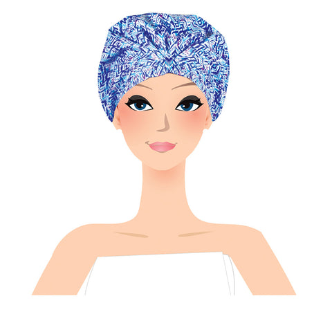 rain fall shower turban on illustration