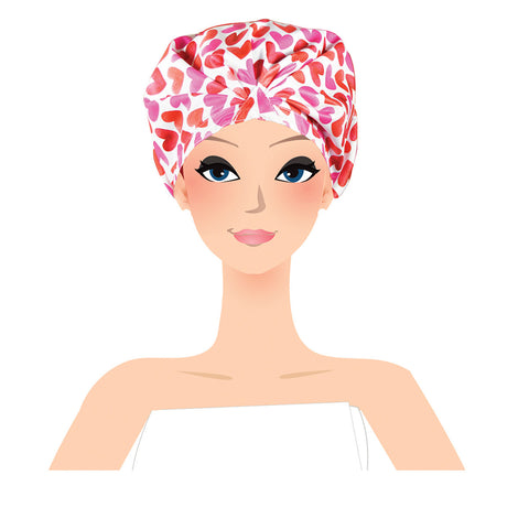 shower turban in action lulu beauty