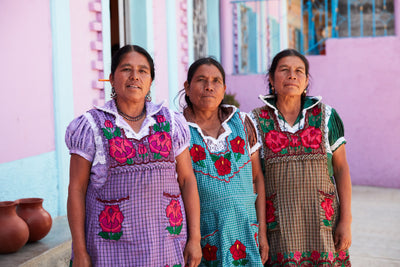 Women of the Red Clay - San Marcos Tlapazola
