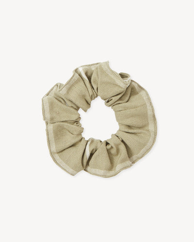 The Everyday Scrunchie - Sage Grid