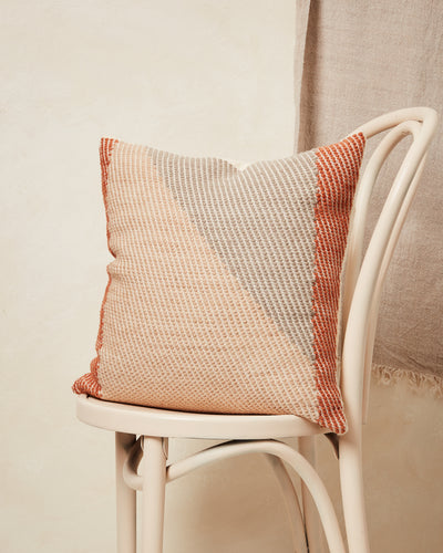 Angle Pillow - Terracotta