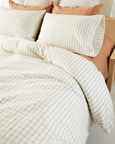 Grid Duvet Cover