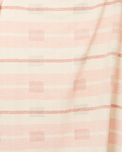 Blocks Peach — Fabric by the Yard