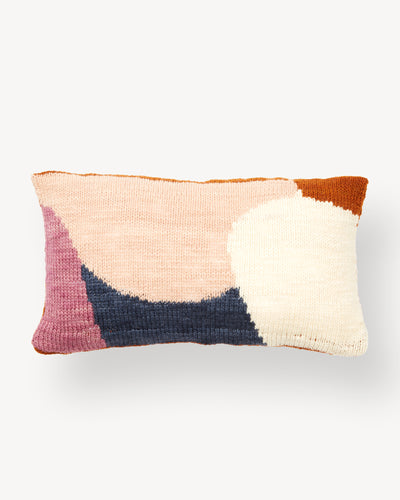 Hillside Lumbar Pillow - Rust