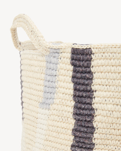 Lines Basket - Medium