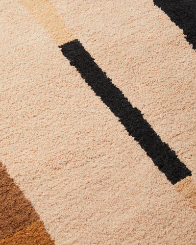 Lines Pile Rug - Oat