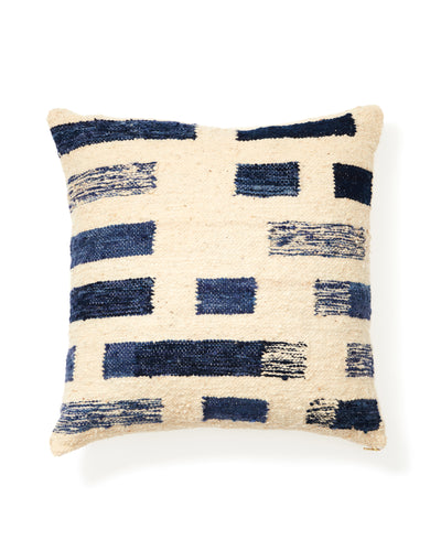 Shadow Pillow - Indigo