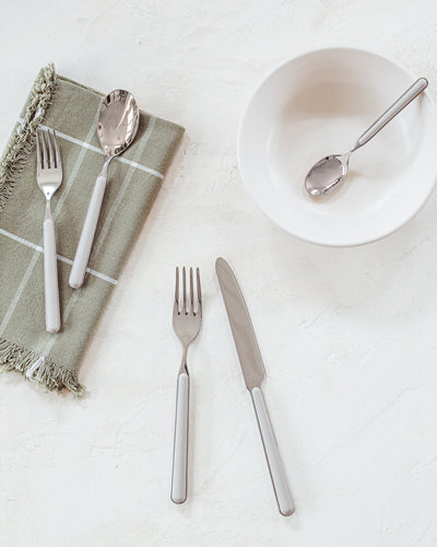 5-piece Flatware Set - Turtle Dove