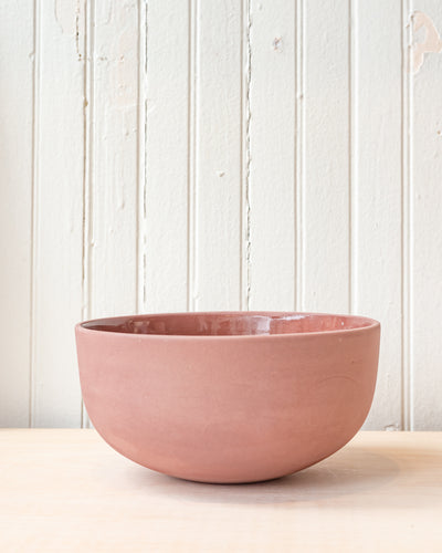 Peaches Aubergine Serving Bowl